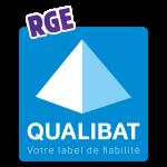 Logo de la qualifiaction RGE Qualibat