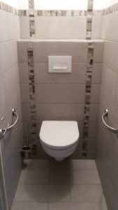 Réfection de toilettes