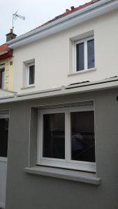 Ravalement de façade et menuiseries PVC