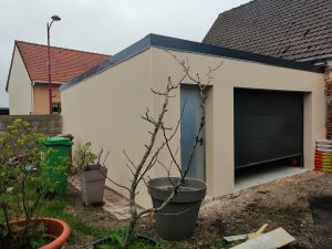 Construction de garage