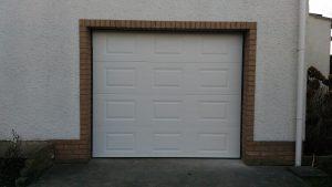 Porte de garage sectionnelle à cassette