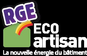 Logo de la qualification RGE Eco-artisan